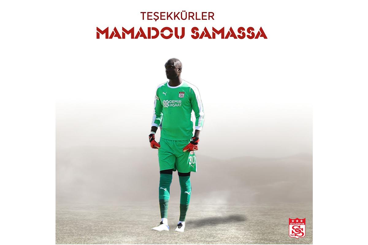 Sivasspor kaleci Samassa'ya teşekkür etti