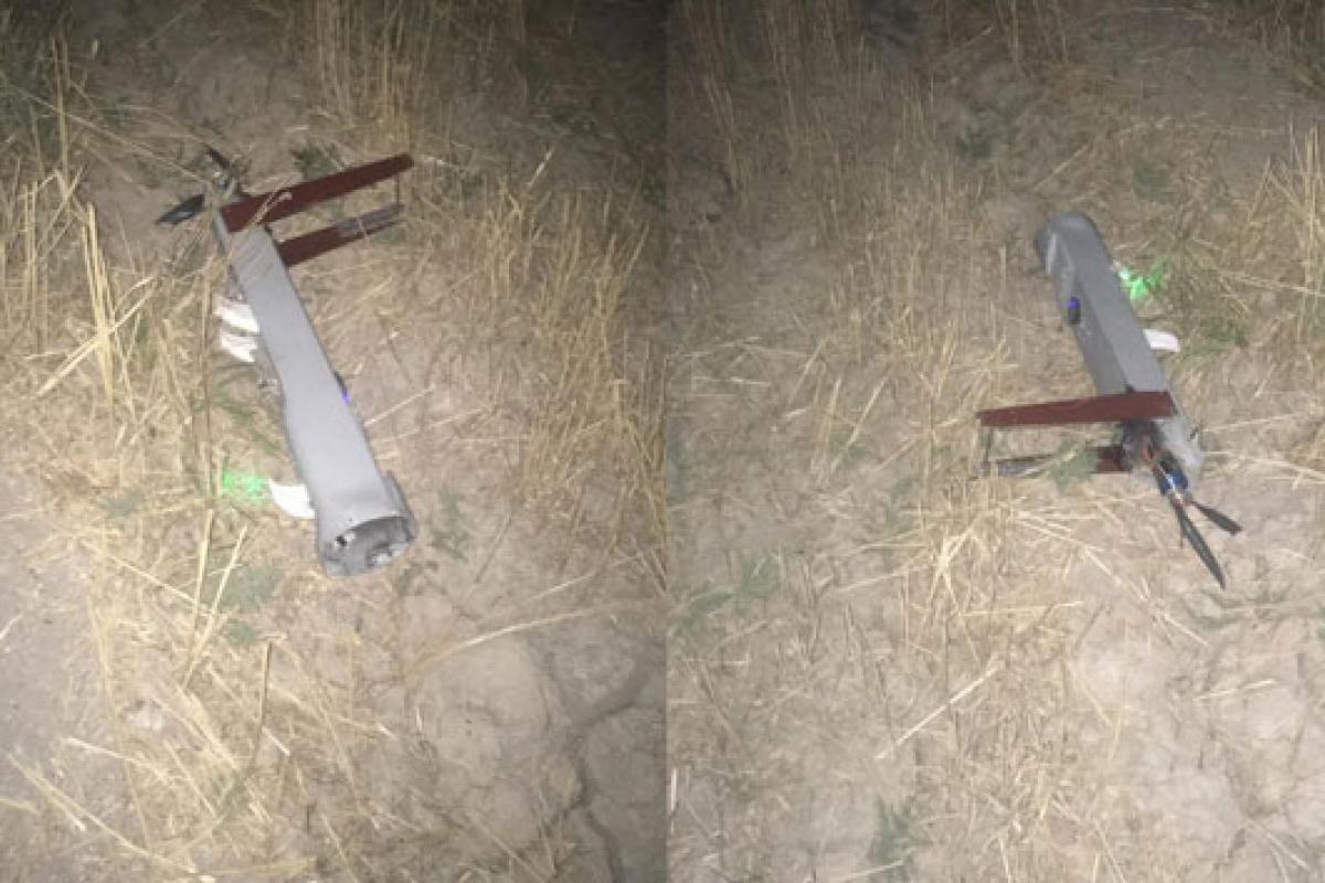 Bağdat'ta 2 insansız hava uçağı düşürüldü