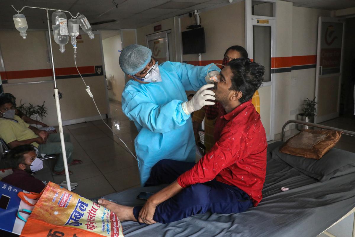 Hindistan'ın Jarkand eyaletinde kara mantar, 'epidemi' ilan edildi