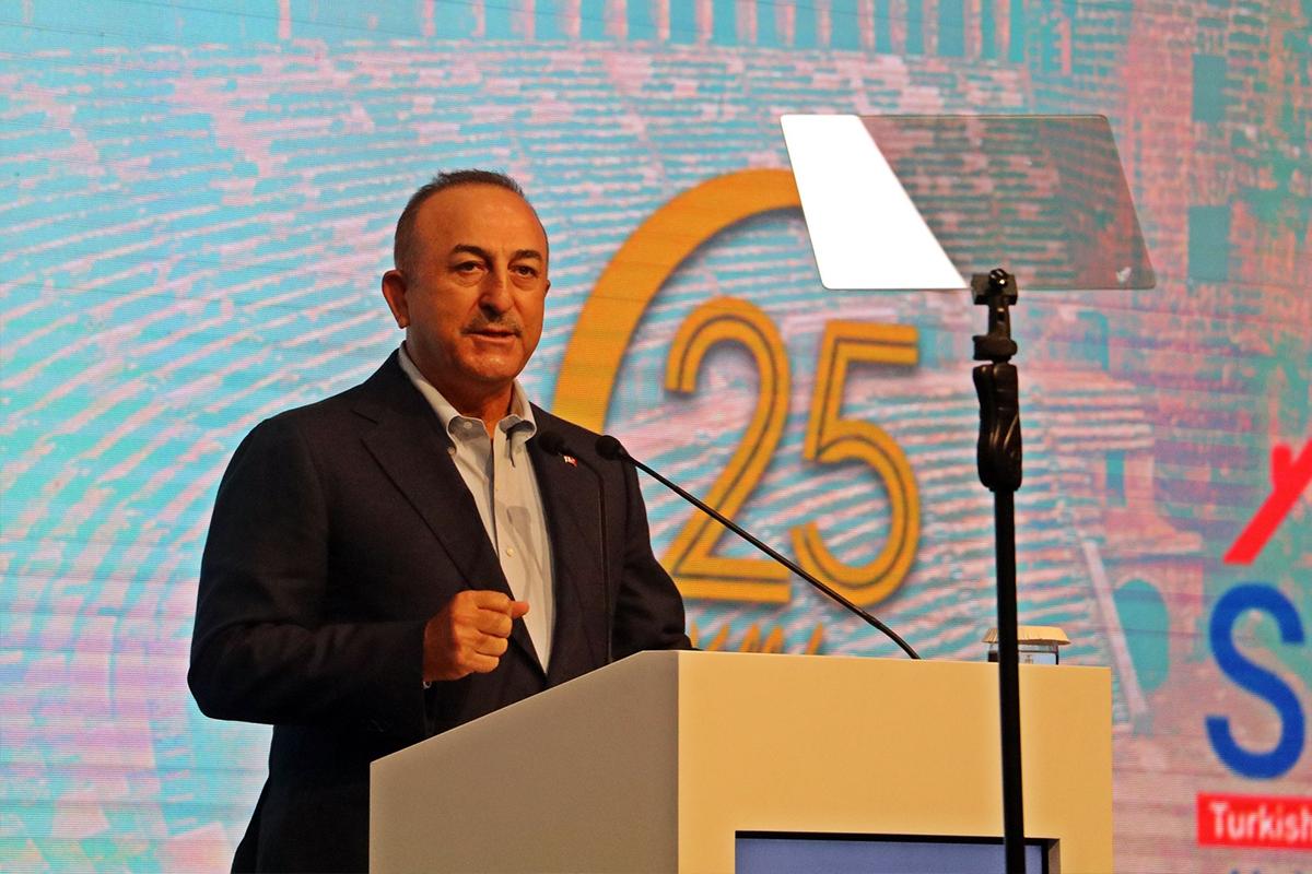 Dışişleri Bakanı Çavuşoğlu: 'Azerbaycan'ın toprak ve sınır bütünlüğüne herkesin saygı duyması lazım'
