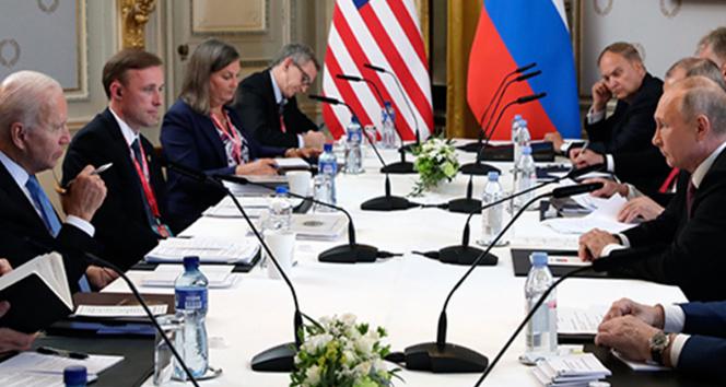 Biden ve Putin görüşmesi sona erdi