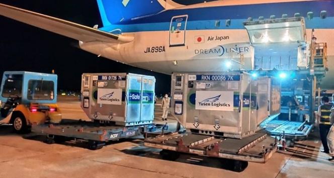 Japonyadan Vietnama 1 milyon doz aşı yardımı
