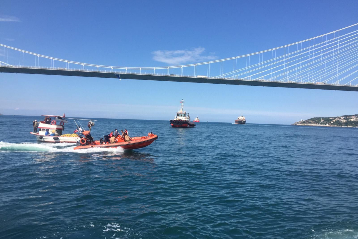 Yavuz Sultan Selim Köprüsü altındaki tekne kazasında vefat sayısı 2'ye yükseldi