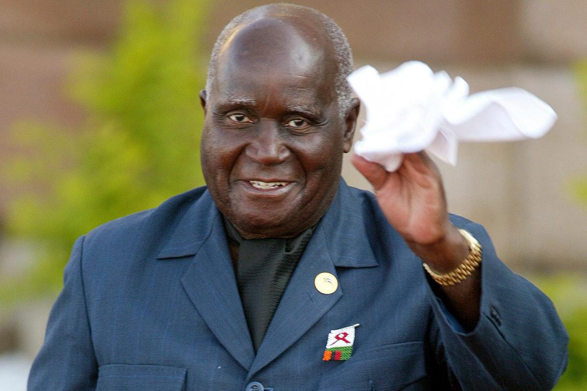 Zambiya'nın ilk Devlet Başkanı Kaunda, 97 yaşında hayatını kaybetti