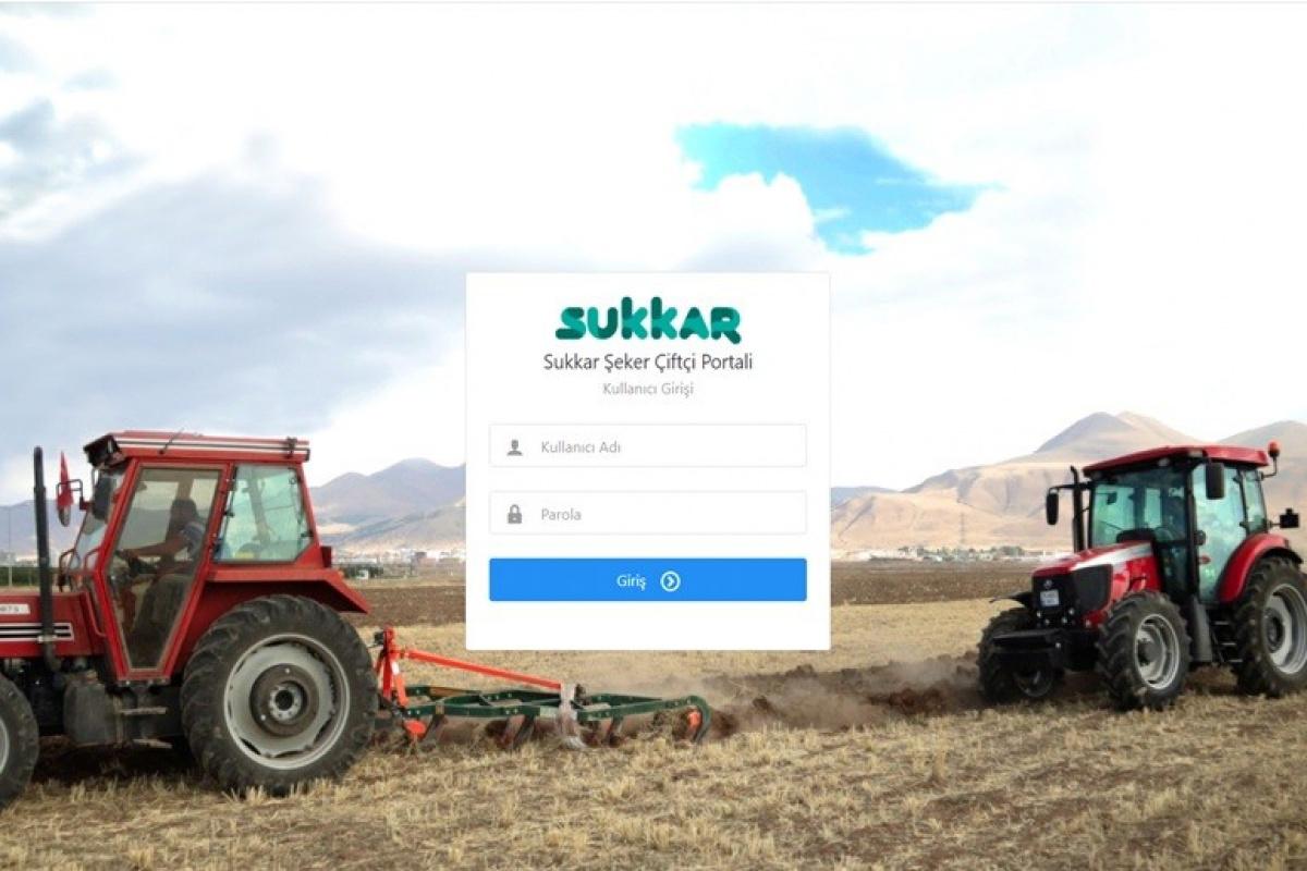 Sukkar Şeker Çiftçi Portalı hizmete açıldı