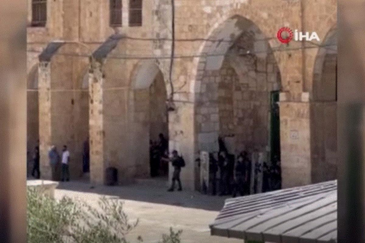 İsrail polisinden Filistinlilere müdahalesinde 9 yaralı