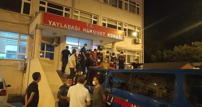 Hatayda göçmen kaçakçılığı operasyonu: 8 tutuklama