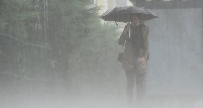 Meteorolojiden gök gürültülü sağanak yağış uyarısı