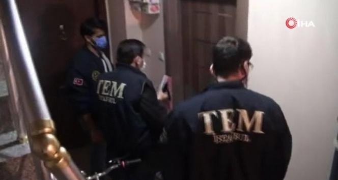 İstanbul merkezli 17 ilde FETÖ operasyonu polis kamerasında