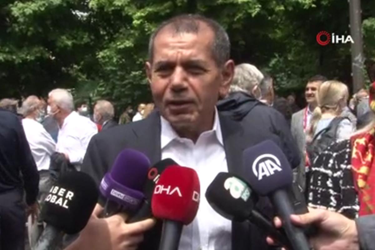 Dursun Özbek: 'Bütün camia, seçilen başkanın yanında olacak'