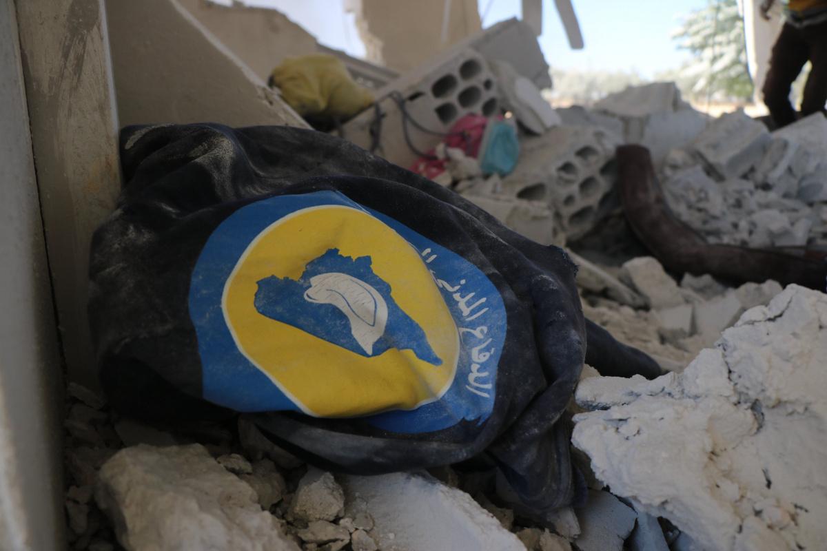 Esad rejimi sivil savunma ekibinin merkezini vurdu: 1 ölü, 3 yaralı