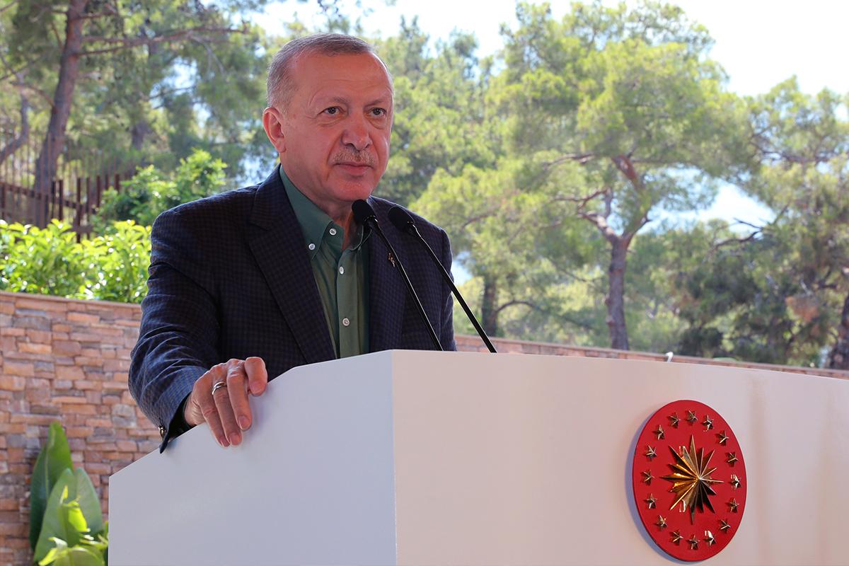 Cumhurbaşkanı Erdoğan: 'Yakalanan failin ilişkileri ortaya çıkarılarak en ağır cezayı alacağına inanıyoruz'