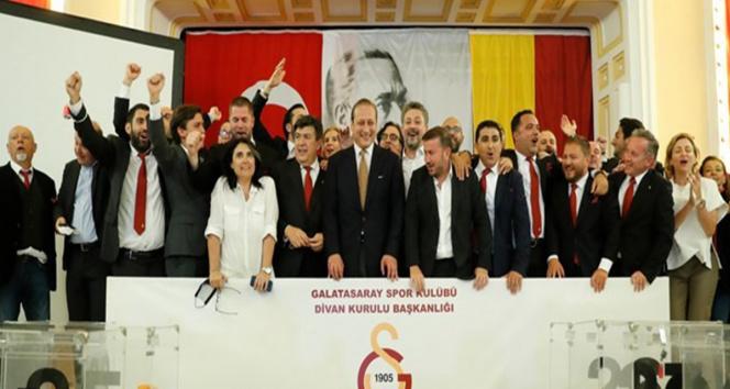 İşte Galatasarayın yeni başkanı Burak Elmas