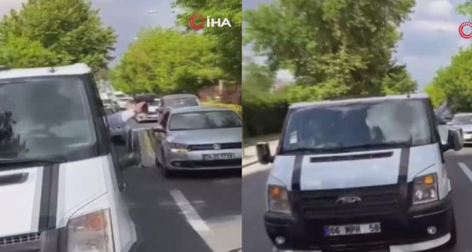 Ankarada düğün konvoyunda havaya rastgele ateş açtı