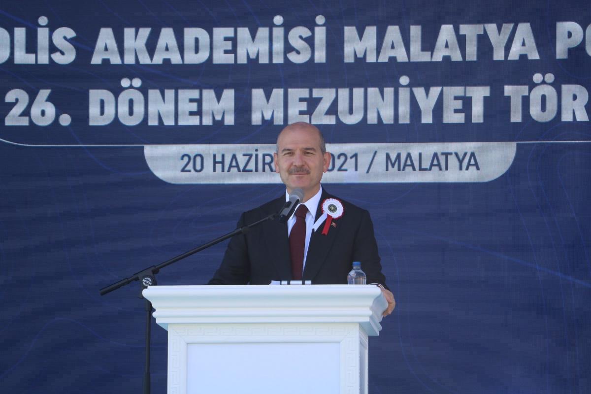 Bakan Soylu:'Türkiye'de PKK terör örgütünün militan sayısını 255'in altına getirdiğimizi biliyoruz'