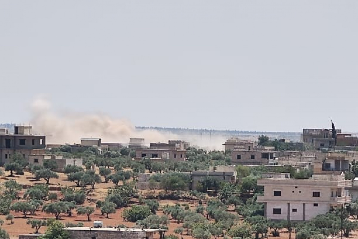 Esad rejiminden İdlib'e topçu saldırısı: 4 yaralı