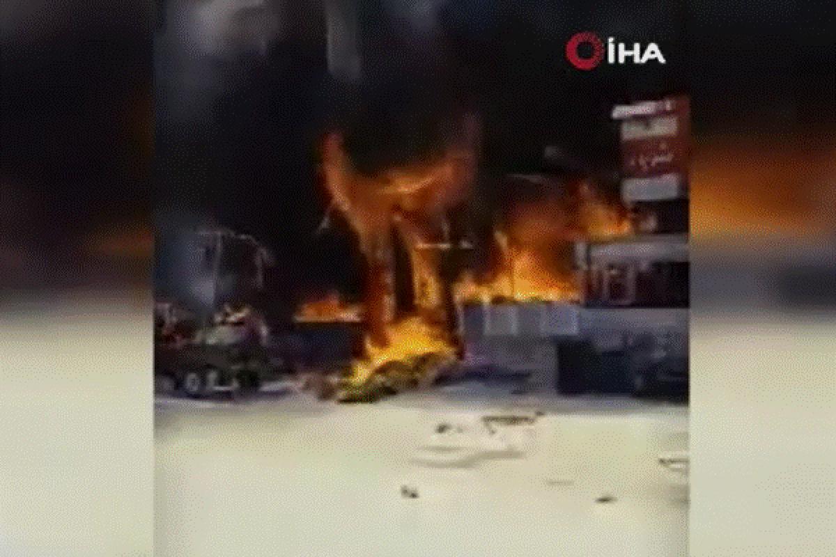 Mısır'da restoranda tüp patladı: 17 yaralı