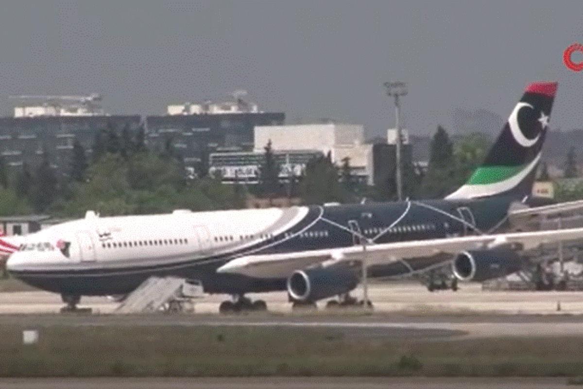 Kaddafi'nin kullandığı uçak, İstanbul'daki bakım çalışmalarının ardından Libya'ya uçtu