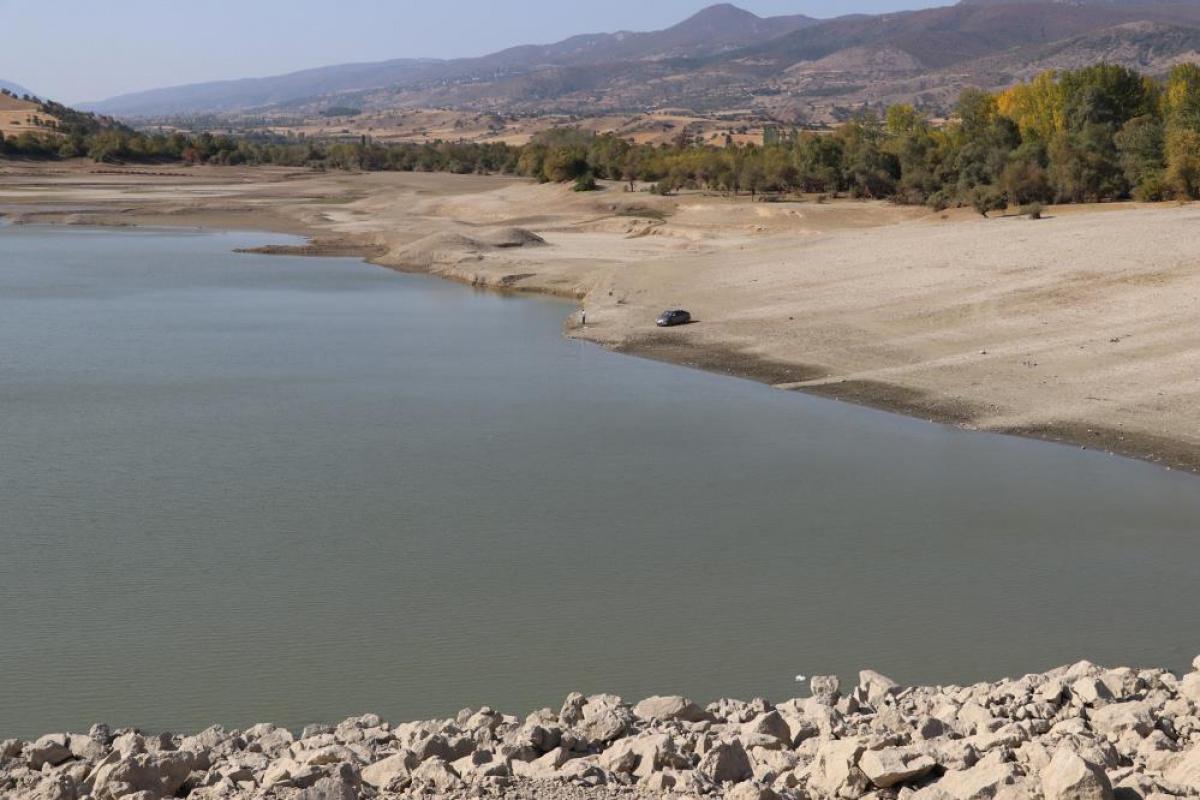 Amasya'da barajlardaki doluluk oranı yüzde 70'e ulaştı