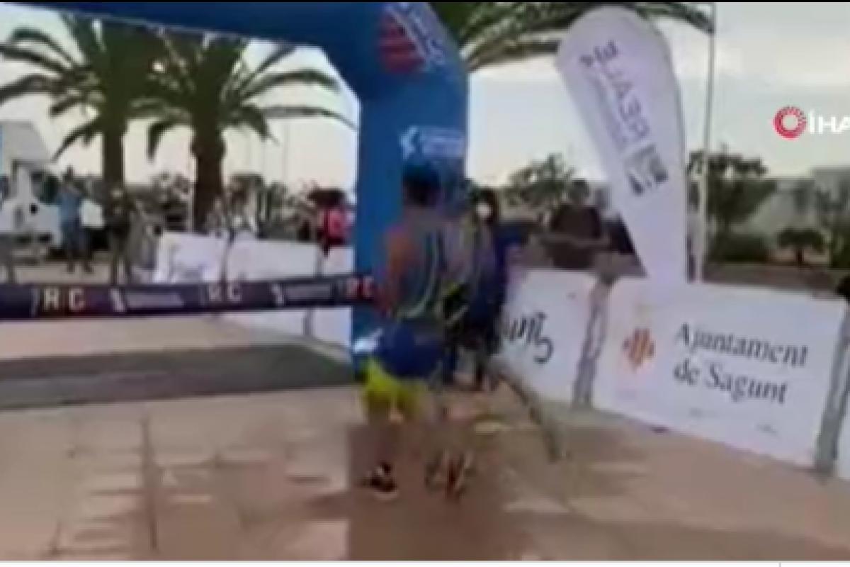 Kazandığını sandığı yarışı son anda kaybetti