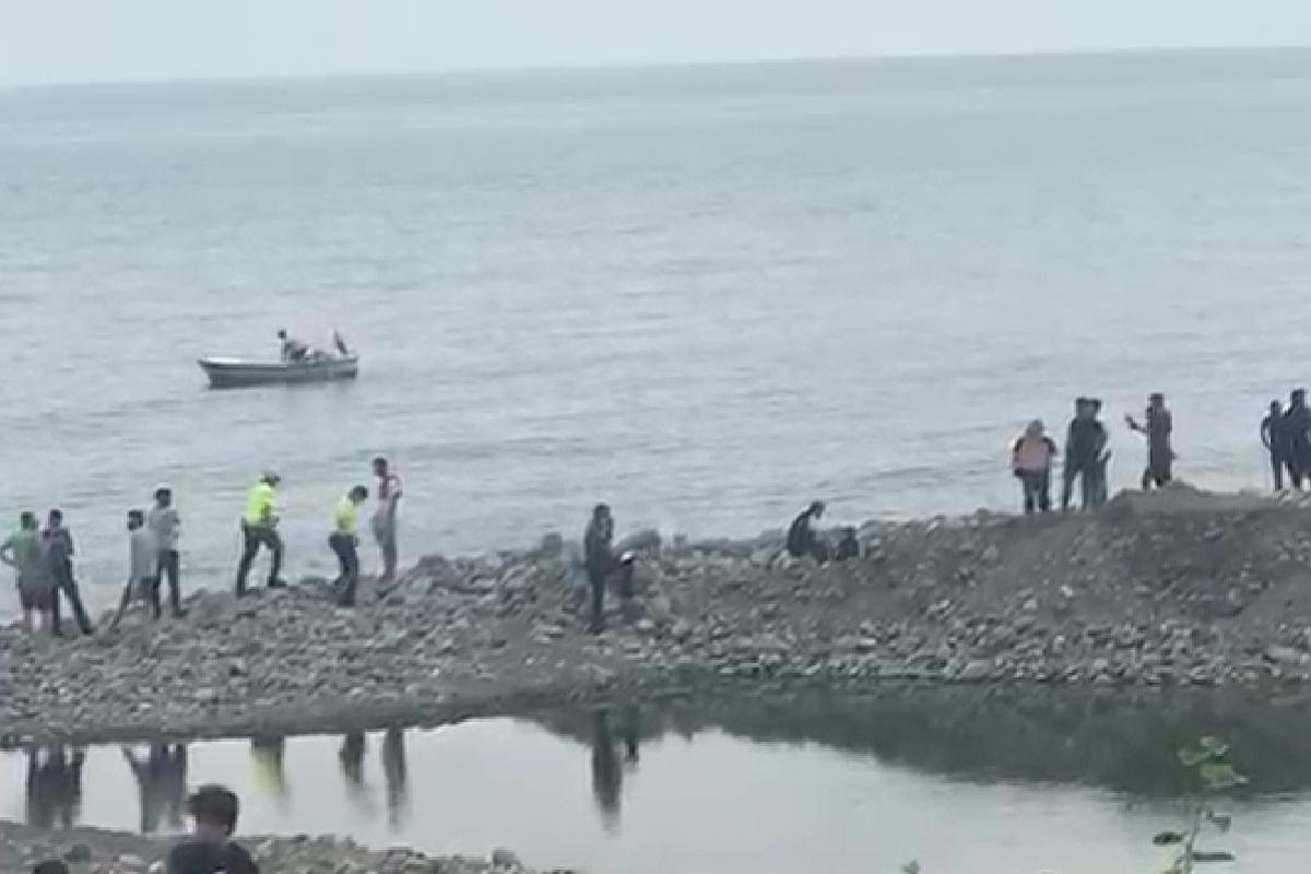 Rize'de denizde kaybolan Afgan gencin cansız bedenine ulaşıldı