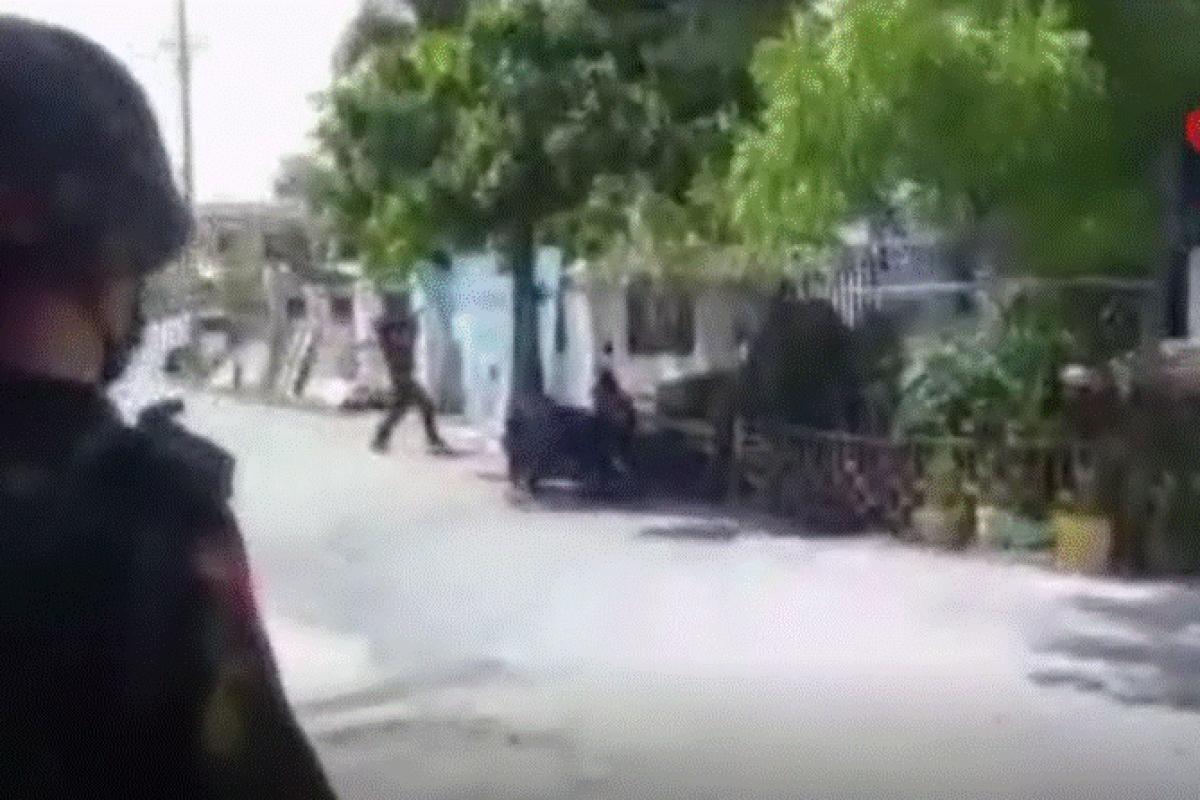 Myanmar'da protestocuların sığındığı eve roketatarlı saldırı iddiası