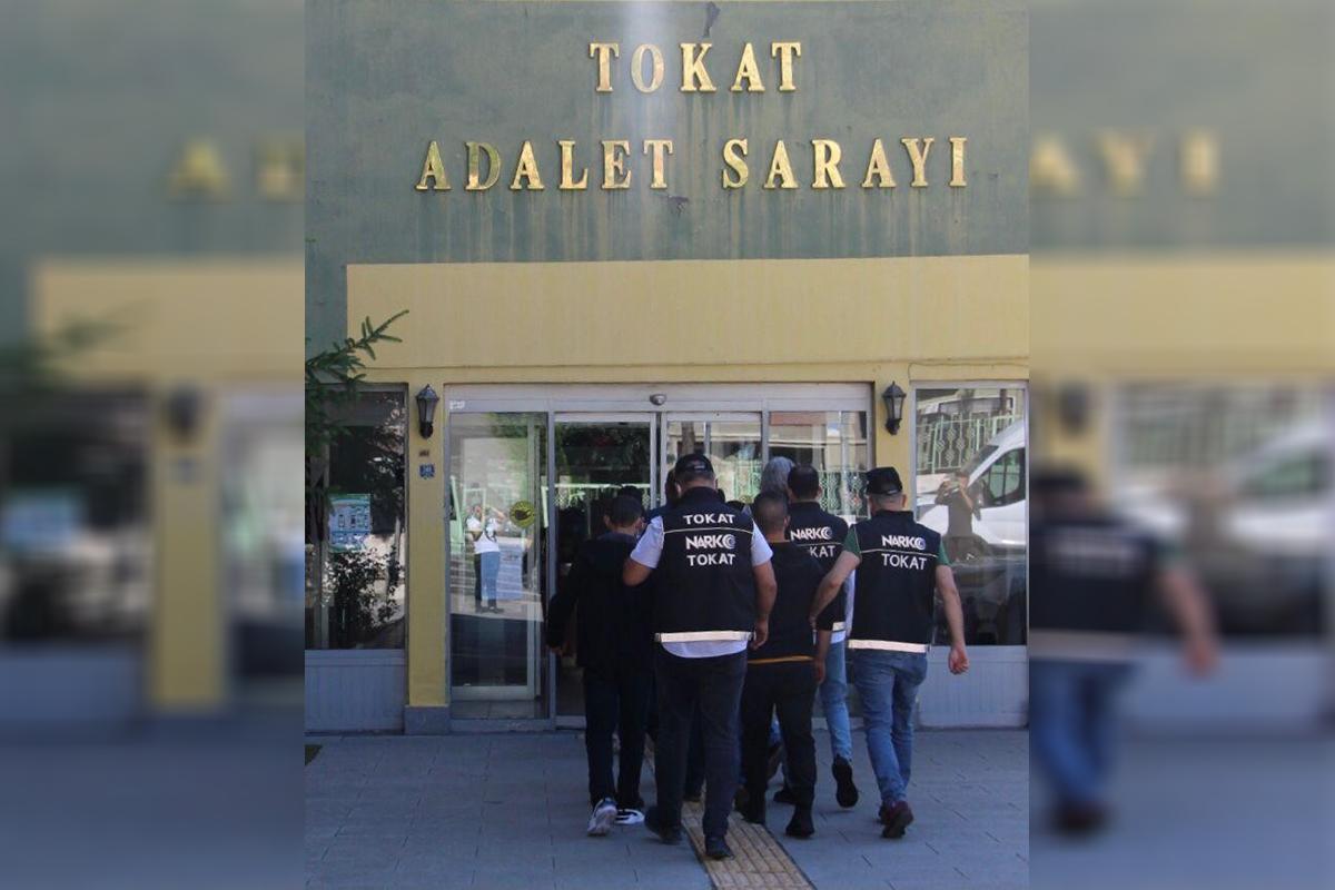 Tokat'ta uyuşturucu operasyonu: 12 tutuklama