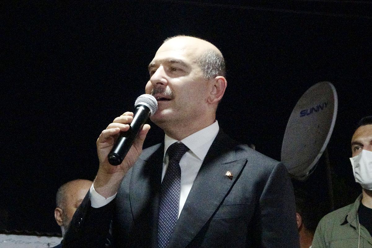 """Bakan Soylu: """"Türkiye'de var olan terörist sayısı 240'a düştü"""""""