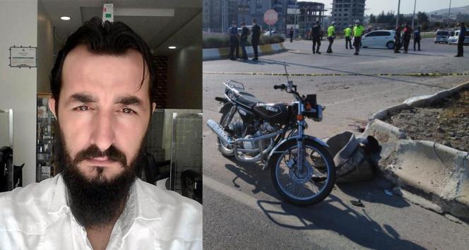 Kiliste motosiklet traktöre çarptı: 1 ölü, 2 yaralı