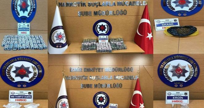 İzmirde zehir tacirlerine darbe: 28 şüpheli tutuklandı