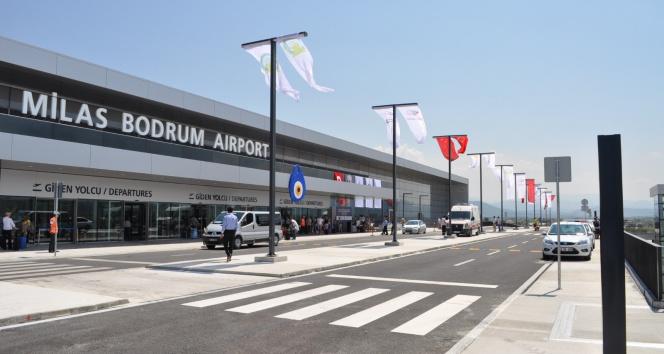 Milas - Bodrum Havalimanında yangın paniği
