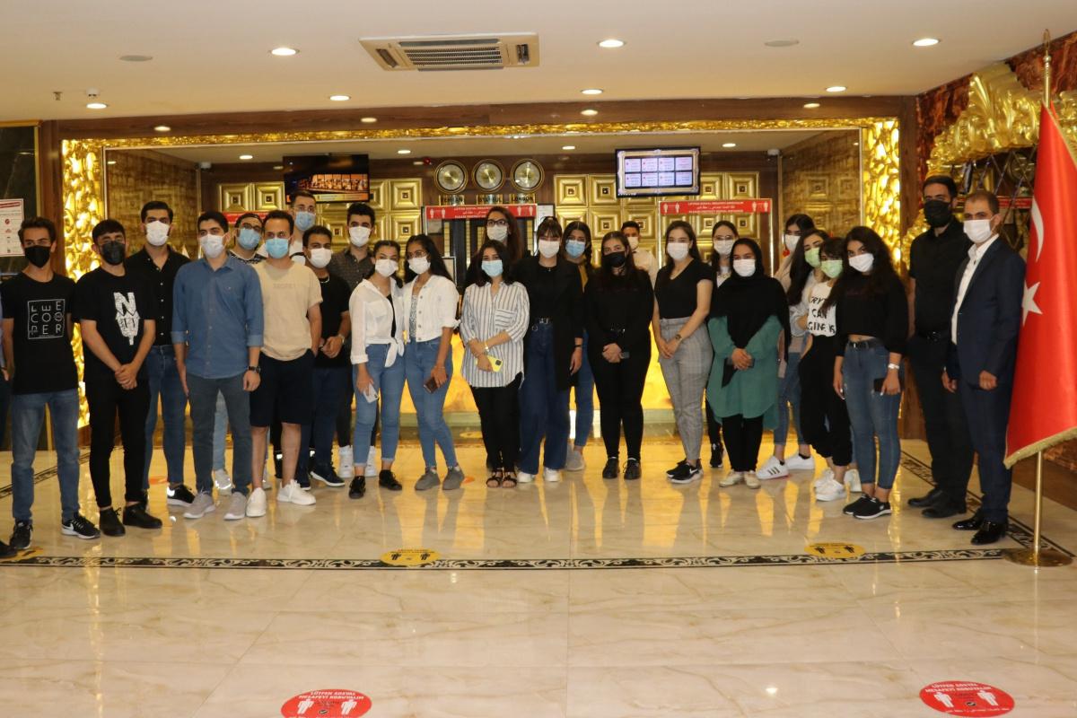 İranlı öğrenci grubu YÖS için Van'a geldi