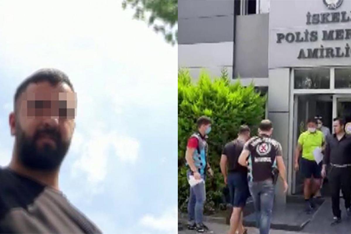 Kadıköy'de boş arsada değnekçilik yapan şahıs yakalandı