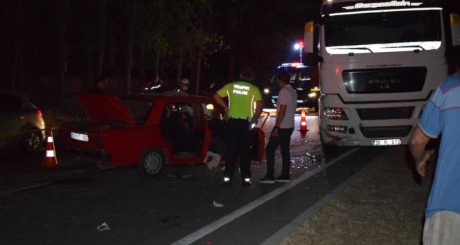 Aydında trafik kazası: 2 ölü