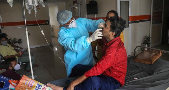 Hindistanda son 111 günün en düşük vaka sayısı
