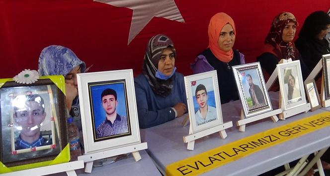 Evlat nöbetindeki aileler, evlatlarını PKKdan almakta kararlı
