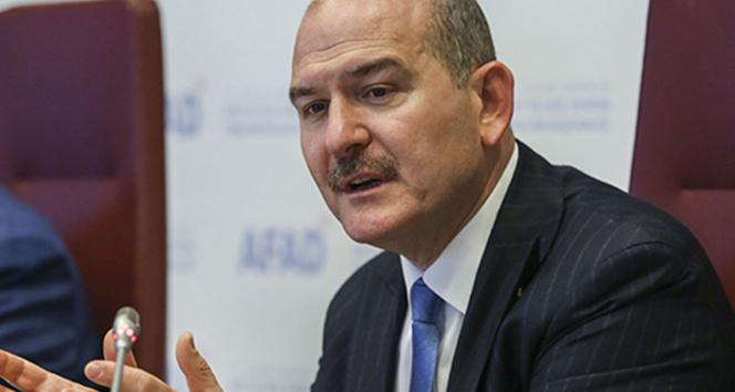 İçişleri Bakanı Süleyman Soyludan operasyon açıklaması