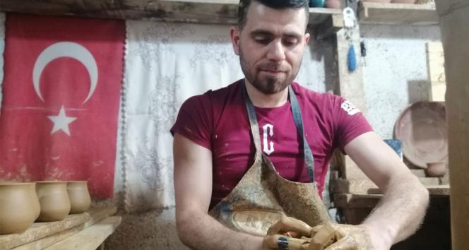 Suriyeden savaştan kaçarak geldiği Türkiyede çömlek yarışmasında 1inci oldu