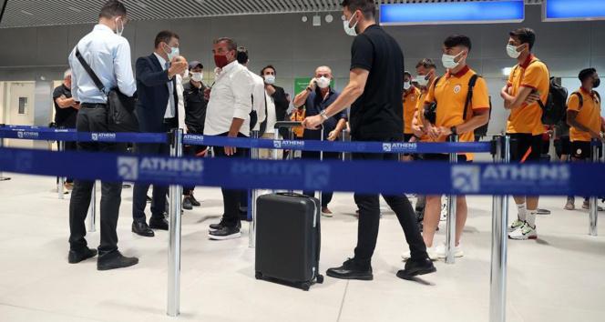 Yunanistanda test skandalı! Galatasaray ülkeye alınmadı