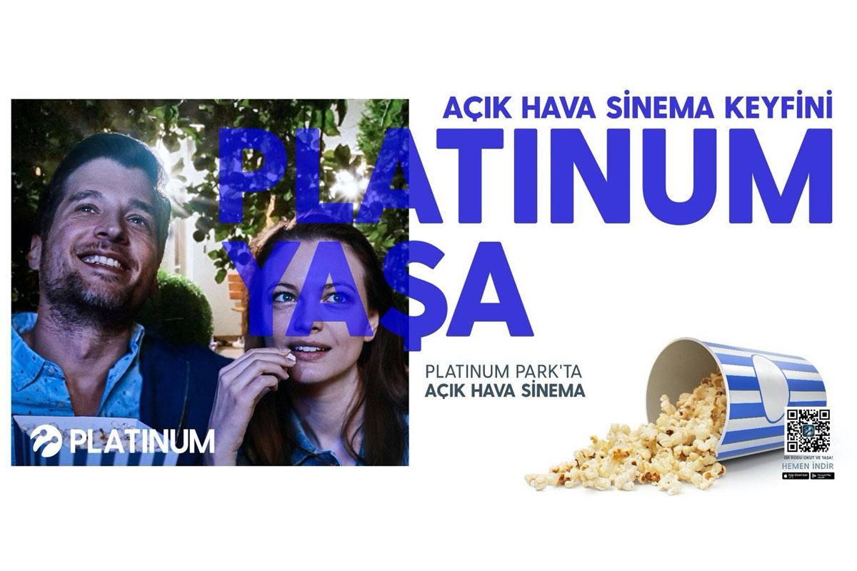 Turkcell Platinum'dan Açık Hava Sinema etkinliği
