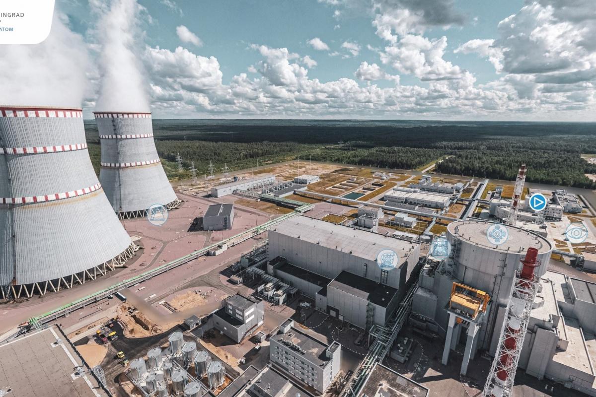 Akkuyu NGS'ye benzerliği ile dikkat çeken Leningrad NGS çevreye duyarlılığı ile ön plana çıkıyor