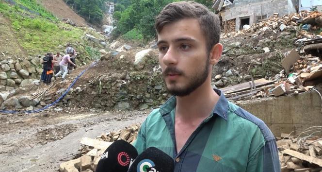 Rizede sel felaketinin tanıkları korku dolu anlarını anlattı