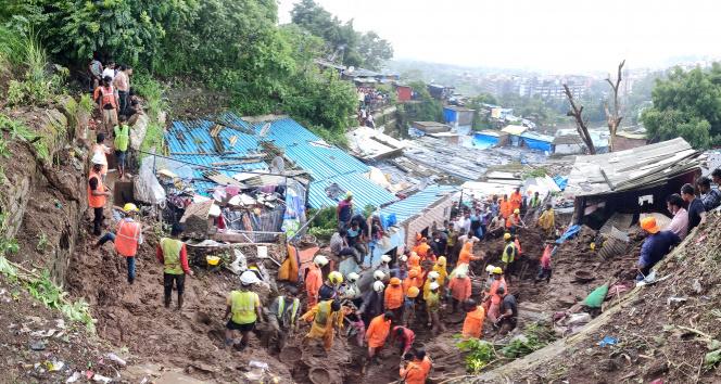 Hindistanda toprak kayması: 25 ölü