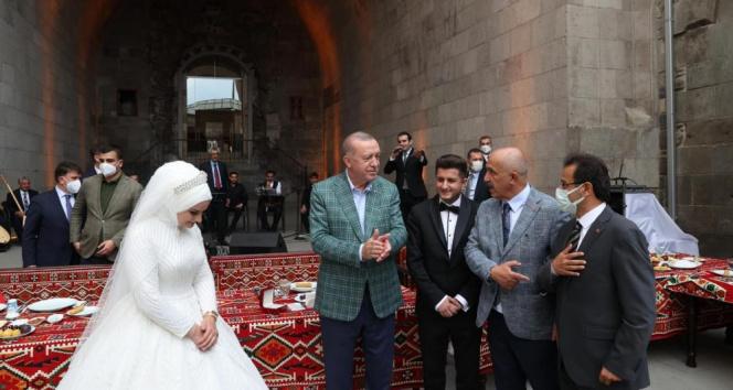 Cumhurbaşkanı Erdoğan genç Çakırları kabul etti