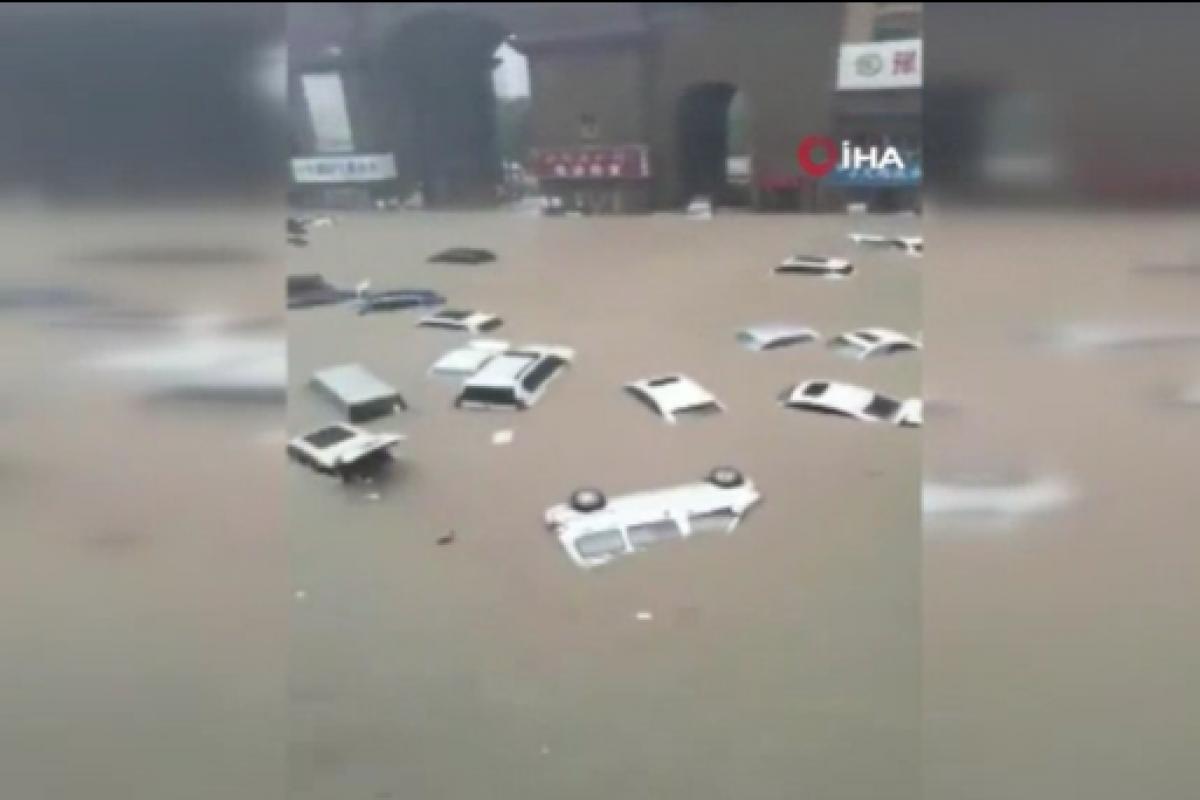 Çin'in Henan eyaletinde sel: 10 binden fazla kişi tahliye edildi