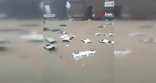 Çinin Henan eyaletinde sel: 10 binden fazla kişi tahliye edildi