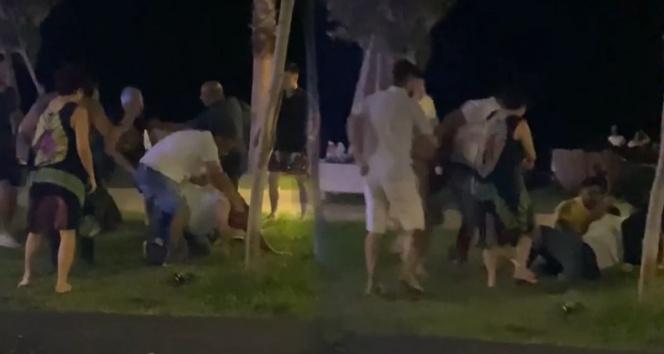 Antalyada niye baktın kavgasında yumruklar konuştu