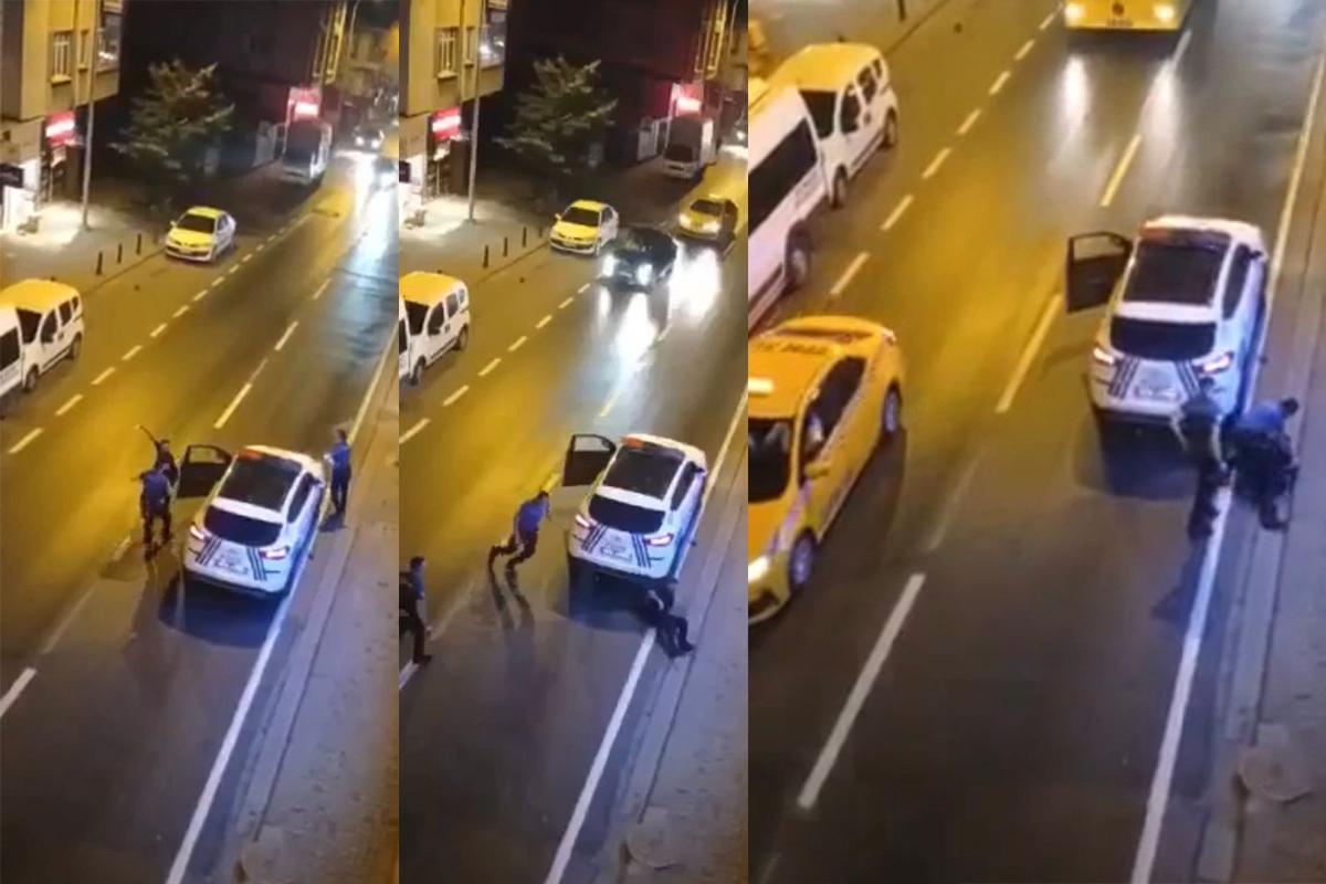 Ümraniye'de bıçaklı dehşet: Annesini bıçakladı, ardından polislere saldırdı