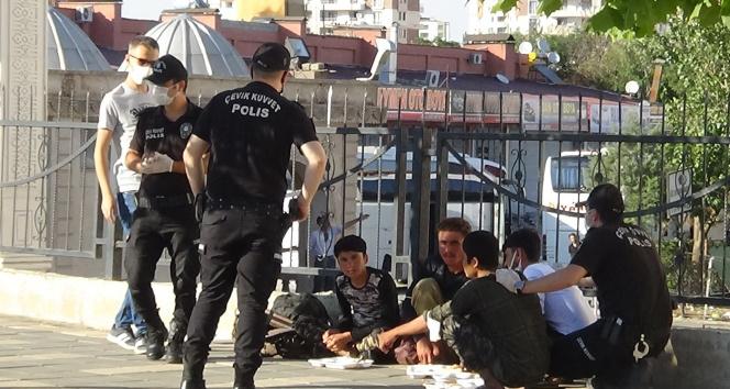 Diyarbakırda düzensiz göçmenlere operasyon