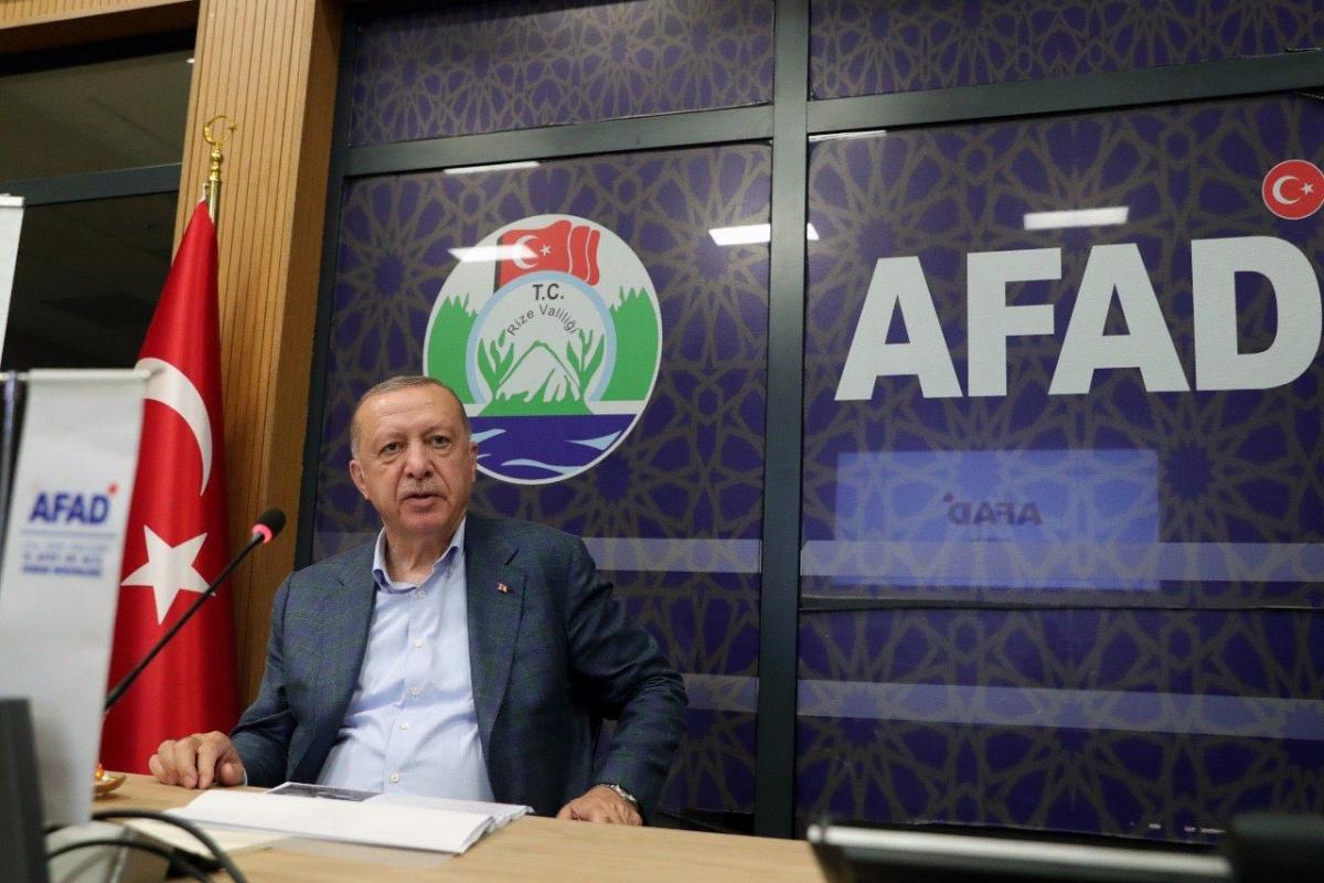 Cumhurbaşkanı Erdoğan başkanlığında Rize'de koordinasyon toplantısı yapıldı